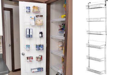 6-Shelf Over-the-Door Organizer ONLY $14 + FREE Pickup at Walmart (Reg $25.18)