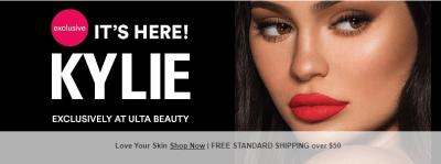 Ulta Beauty : KYLIE COSMETICS 50% OFF!