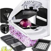 Vegetable Chopper Mandoline Slicer Dicer - Onion Chopper - Vegetable Dicer Food Chopper Dicer Pro for $20.22 (reg: $27.99)