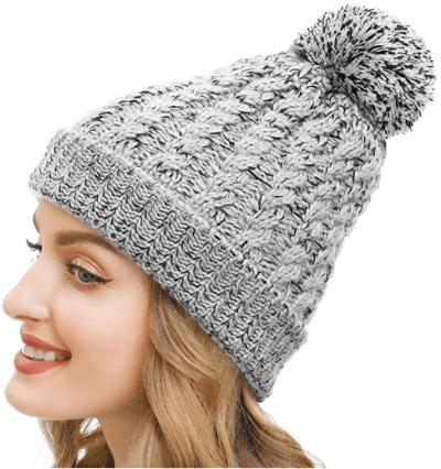 Amazon : Women Knit Fleece Lined Beanie Hat $4.60 W/Code (Reg : $22.99) (As of 1/22/2020 10 AM CST)