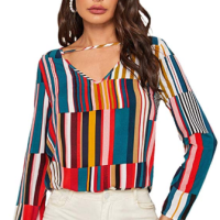 Amazon : Women's Casual Round Neck Pullover Sweatshirt Just $6.99 W/Code (Reg : $19.97) (As of 1/20/2020 4.16 PM CST)