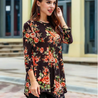 Amazon : Women's Print Flared Party Tunic Dress Just 7.80 W/Code (Reg : $25.99) (As of 1/16/2020 9.49 AM CST)