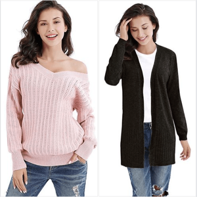 Amazon : Women's Pullover Sweaters Just $9.20 - $9.60 W/Code (Reg : $22.99-$23.99) (As of 1/22/2020 5.49 AM CST)