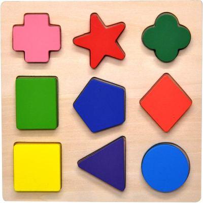Amazon : Wooden Preschool Colorful Shape Puzzle Just $6.97 (Reg : $18) (As of 1/22/2020 5.42 PM CST)