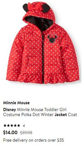 Walmart : Disney Jacket On Sale!