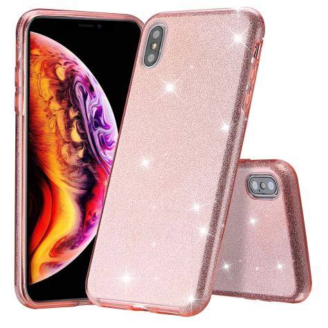 Glitter Case for iPhone Xs Max for $2.49 w/code & 25% clip coupon