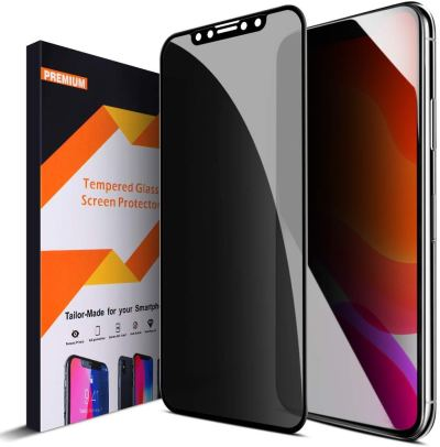 Amazon : iPhone 11 Privacy Screen Protector Anti Spy Privacy Glass 4D Curve Edge to Edge Full Coverage Tempered Glass Just $5.99 W/Code (Reg : $11.98) (As of 1/22/2020 10.50 AM CST)