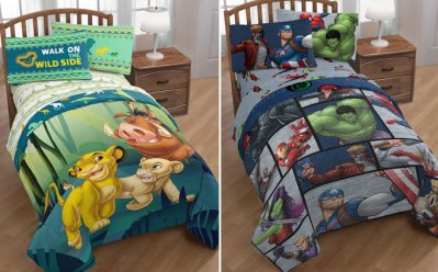 Kids Comforter ONLY $16 + FREE Shipping (Reg $70) – Lion King, Avengers, Minecraft!