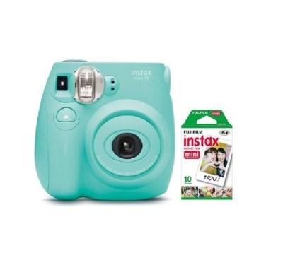 WALMART: Fujifilm Instax Mini 7S Instant Camera (with 10-pack film)- Seafoam Green SALE! $35.76 (Reg $59.00)
