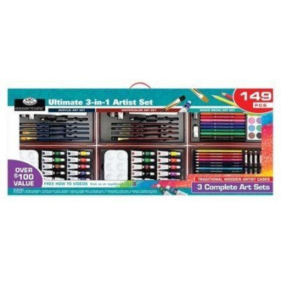 Walmart: Royal & Langnickel Ultimate 3-In-1 Art Set 149 Pieces For $25 (Was $50) + Store Pickup.
