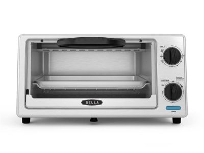 MACY'S: Bella 4-Slice Stainless Steel Toaster Oven, JUST $19.99 (Reg $44.99)
