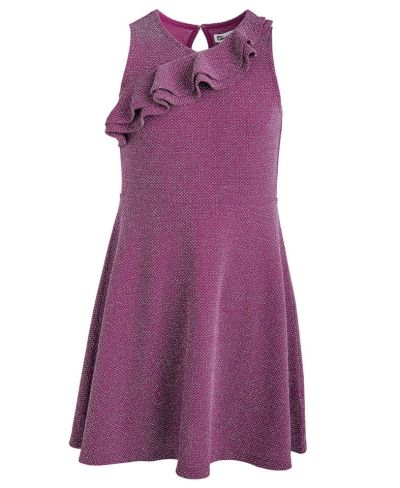 MACY'S: Epic Threads Big Girls Metallic Ruffled Dress, JUST $7.96 (Reg $40.00)