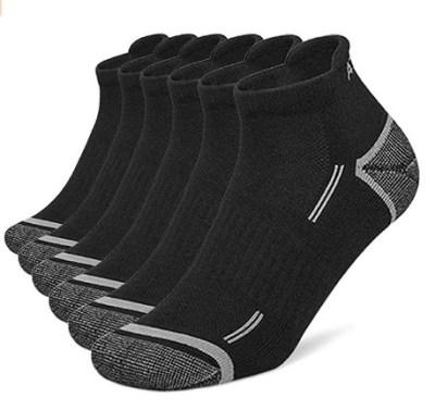 AMAZON: No-Show Compression Running Socks 6-Pair JUST $13.99 + FREE Shipping (Regularly $35)