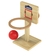Tabletop Basketball - Lowe's Free Build & Grow Workshop on 3/14 (Free Event)