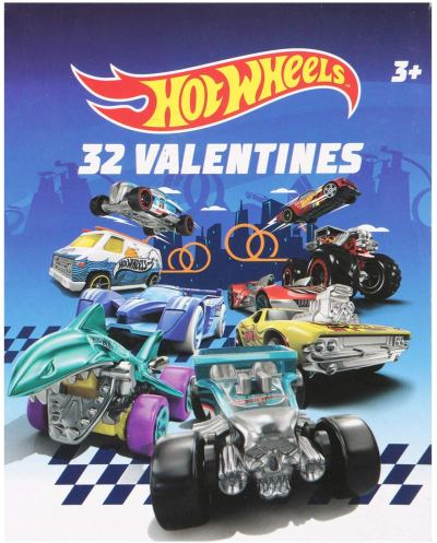 Amazon : Hot Wheels 32 Valentine Cards Just $3.75 (Reg : $6.50) (As of 2/03/2020 2.10 PM CST)