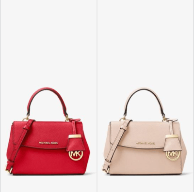 Michael Kors : Ava Extra-Small Saffiano Leather Crossbody Just $89 (Reg $178)