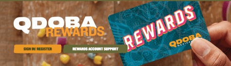 Purchase 1 QDOBA Entree & Get 1 FREE February 14 only
