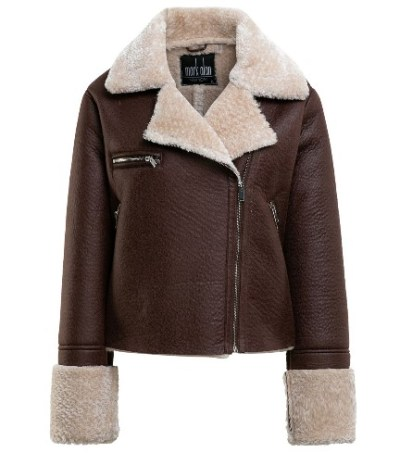 Walmart: Mark Alan New York Women's Faux Shearling Jacket $15.50 (Was $50) + Store Pickup.