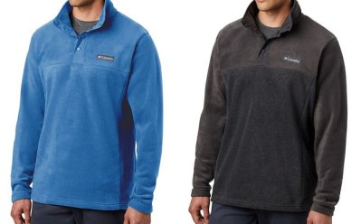 Columbia Men's Fleece Pullover ONLY $14 + FREE Shipping (Regularly $35)