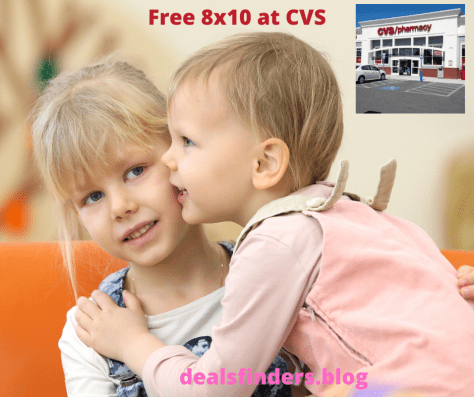 CVS : FREE 8×10 Photo Print + Free Pick Up ! - Verified and Working
