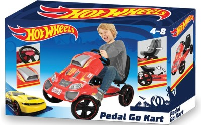WALMART: Hot Wheels Speedster Go Kart Ride On for ONLY $59 + FREE Shipping (Regularly $129)