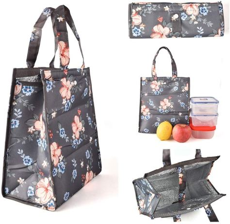Insulated Lunch Bags for Women at $4.99