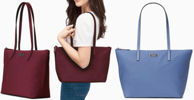 Kate Spade Tote JUST $59 (Regularly $249) Choose from 4 Colors – Today Only!