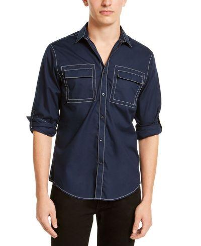 MACY'S: INC Men's Utility Shirt, Just $18.93 (Reg $49.50)