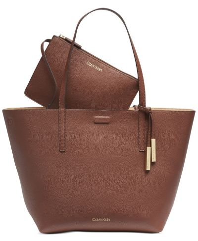 MACY'S: Calvin Klein Rachel Tote, Just $55.50 (Reg $148.00) with code PREVIEW