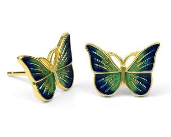 AMAZON: Butterfly Stud Earrings for Women – 60% OFF DOUBLE DISCOUNT!!