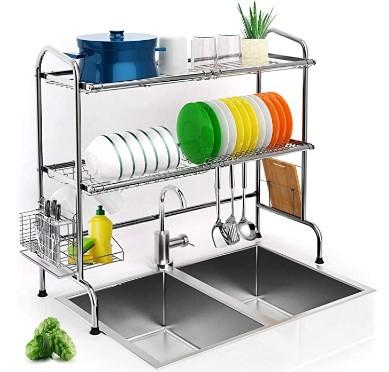 AMAZON: Over Sink Dish Drying Rack – 30% OFF!!!