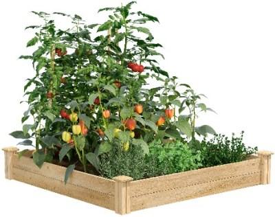 WALMART: Greenes Fence Cedar Raised Garden Bed ONLY $44.09 (Reg $60)