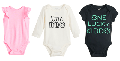 KOHL'S: Jumping Beans Baby Bodysuits ONLY $4 (Regularly $12)
