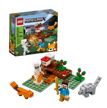 WALMART: LEGO Minecraft: The Taiga Adventure for ONLY $7.99 (Regularly $15)