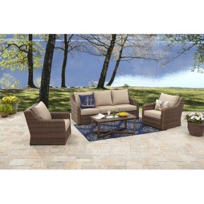 WALMART: Hawthorne Park 4-Piece Sofa Conversation Set ONLY $697 (Reg $999)