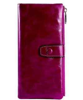 AMAZON: Bifold Genuine Leather Wallet – 71% OFF DOUBLE DISCOUNT!!