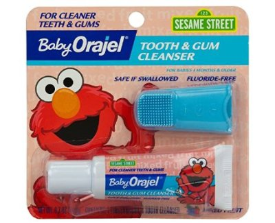 AMAZON: Baby Orajel Elmo Tooth & Gum Cleanser for $3.69 (Reg. Price $6.00)