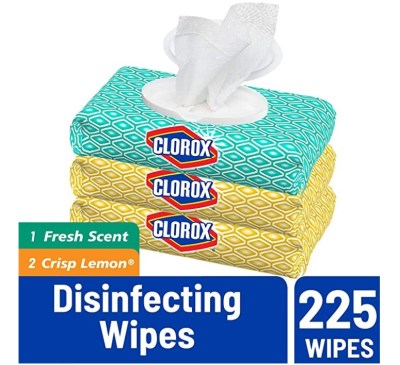 AMAZON: Clorox Disinfecting Bleach Free Cleaning Wipes, IN STOCK!!!