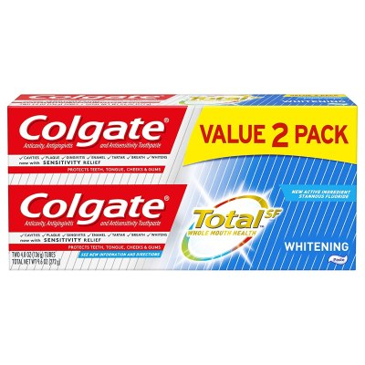 AMAZON: Colgate Total Whitening Toothpaste - 4.8 ounce (2 Pack), AS LOW AS $2.13 VIA SUBSCRIBE & SAVE