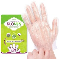 AMAZON: Disposable Gloves, 100 Pcs Plastic Gloves, Just $4.99