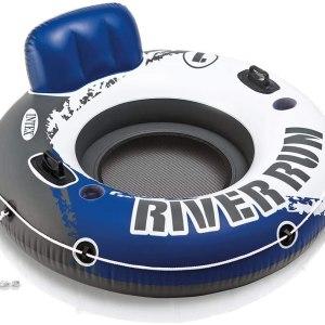 "AMAZON: Intex River Run I Sport Lounge, Inflatable Water Float, 53"" Diameter"