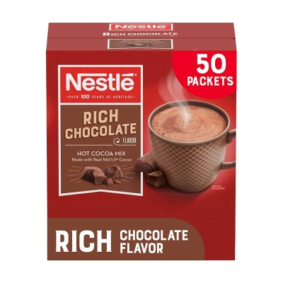 AMAZON: Nestle Hot Chocolate Packets, Hot Cocoa Mix, Rich Chocolate Flavor, Checkout With Subscribe & Save!