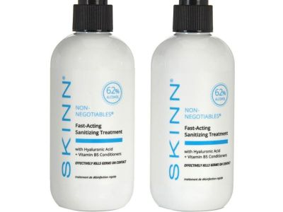 HSN: Skinn Cosmetics Non-Negotiables Fast Acting Hand Sanitizer Duo GET $10 OFF WITH CODE HSN10
