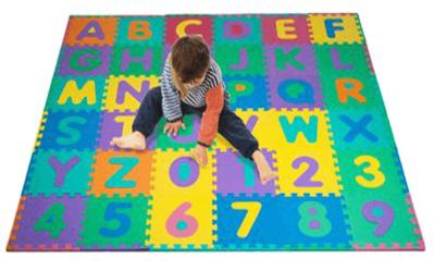 WALMART: Trademark Alphabet & Number Puzzle Mat, $19.99 (Reg $31.16)