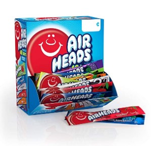 AMAZON: Airheads Candy Bars, Party 60 Count