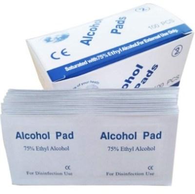 AMAZON: 100PCS Disposable Alcohol Prep Pads