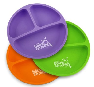 AMAZON: Divided Soft Plates for Baby and Toddler – PRICE DROP!!!