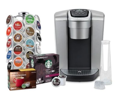 KOHL'S: Keurig K-Elite Coffee Maker Bundle Just $131 after Kohl's Cash (Reg $270) – Today Only!