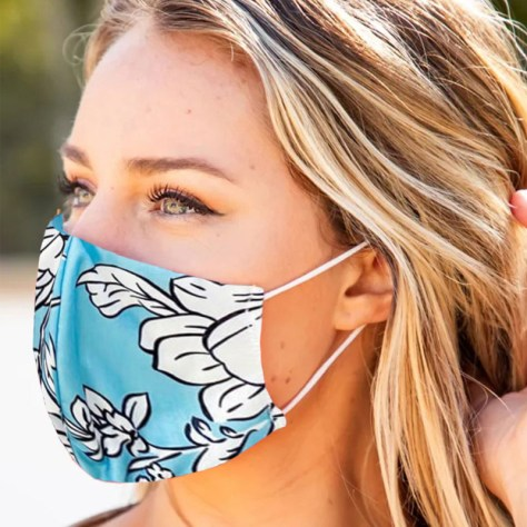 Washable Floral Face Mask for $9.99 (Deal Ends Soon)