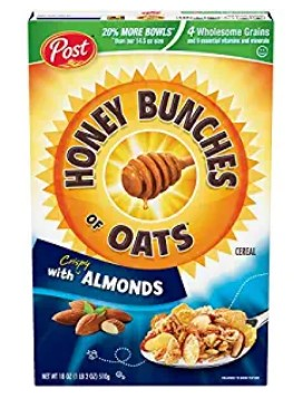 AMAZON: Post Honey Bunches of Oats with Crispy Almonds – GREAT DEAL!!
